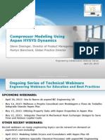 HYSYS Dynamics V8 Compressor Modeling