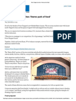 """Price Chopper Launches 'Theme Park of Food'"""