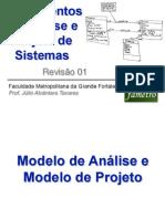 REV 01 Revisao Analise e Projeto e Diagrama Classes Atividades