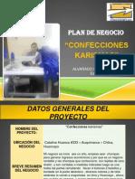 Caritas Plan de Negocio Yusleni 2014
