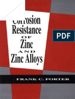 Frank C. Porter Corrosion Resistance of Zinc and Zinc Alloys 1994