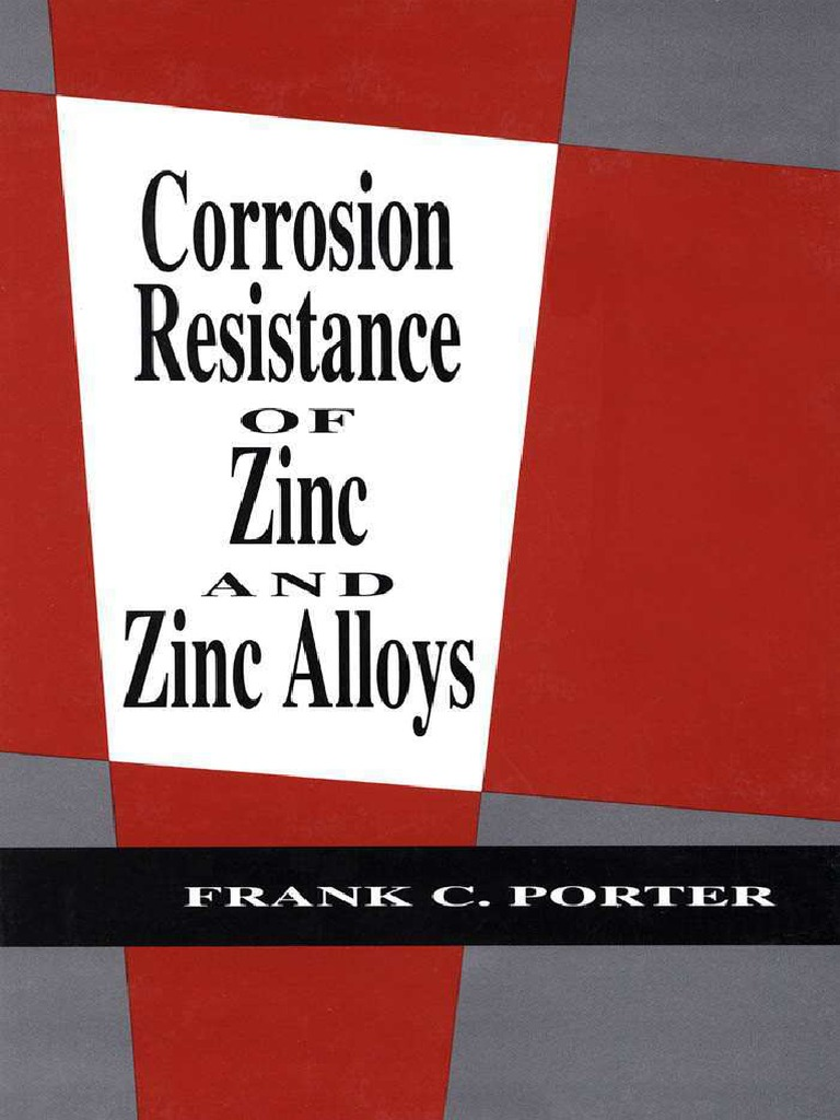 Frank C Porter Corrosion Resistance Of Zinc And Alloys 1994 Single Side Copper Clad Laminate Pcb Circuit Board Ccl Alex Nld Galvanization