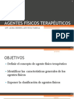 AGENTES FÍSICOS TERAPÉUTICOS