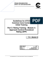 Guidelines for ATCO Common Core Content Initial Training _Part 3_MOD 4_APP