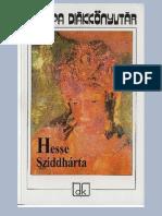 Hermann Hesse - Sziddhárta