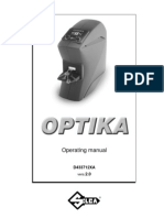 SILCA Optika Manual