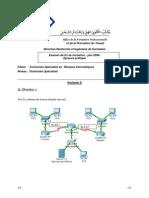 Examen de Fin de Formation 2008 Tsri Pratique Variante 9