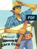 Manual de Supervisión y Control de Obra