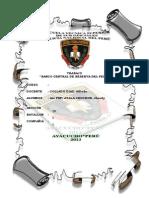 Monografia Banco Central de Reserva Del Perú