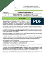 Prova04 Assistente Em Administração