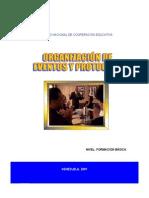 Manual de Organizacion de Eventos y Protocolo