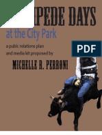 PR Plan and Media Kit (Stampede Days)