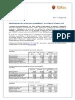 AS Roma, Resoconto Intermedio di Gestione al 31.03.2014 (3Q 2013/14)