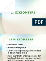 Kimia Industri - 3 STOIKIOMETRI - Mr.ihwan Hamdala