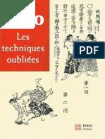 Blanchetete Loic - Judo Les Techniques Oubliees