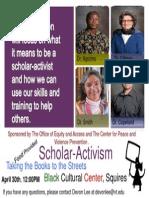 scholar-activism