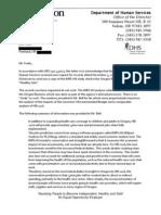 Oregon DHS estimates of economic impacts of HB 2116