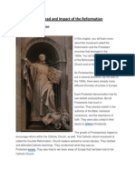 the spread and impact of the reformation text