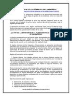 49672923 Importancia de Las Finanzas en La Empresa
