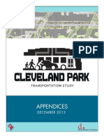 Cleveland Park Transporation Study – Final Report Appendices