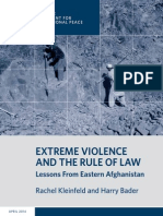 Extreme Violence and the Rule of Law