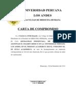 Carta de Compromiso -- Llevar El Curso de Ingles Mh