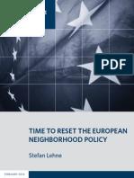 Time to Reset the European Neighborhood Policy