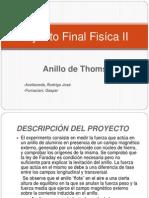 Proyecto Final Fisíca II