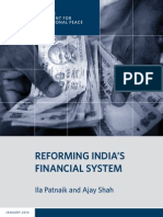 Reforming India's Financial System