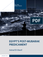 Egypt's Post-Mubarak Predicament