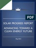 Progress Report—Advancing Toward a Clean Energy Future