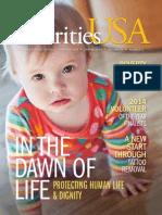 Charities USA Magazine Spring 2014
