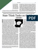 State Think Tanks