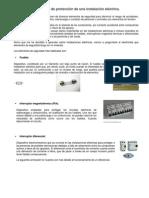 Elementos de Protección de Una Instalación Eléctrica