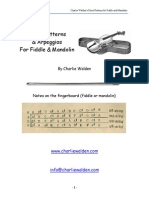 3198707 Chord Patterns and Arpeggios for Fiddle and Mandolin