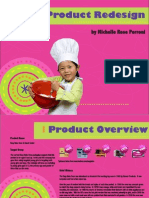 Product Redesign Easy Bake Oven)