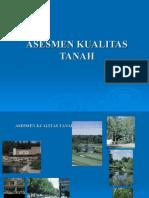 ASESMEN KUALITAS TANAH