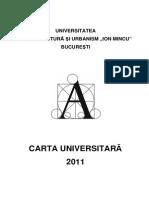 Carta Universitara UAUIM 2011