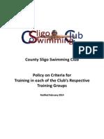 CSSC Entry Requirement and Progression Criteria
