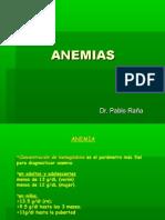 Anemias Set 2009