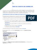 Como configurar su cuenta de correo en Outlook 2003