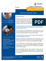 Halls News Issue Three 2014