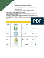 Volumenes Geometricos y Su Fórmula