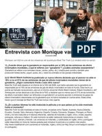 Entrevista con Monique van Dijk ESPAÑOL
