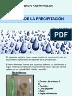 Medida de La Precipitación