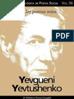 Yevtuchenko, Yevgueni. Colección Revista Antológica de Poesía Social