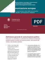 Comunicazione Europea