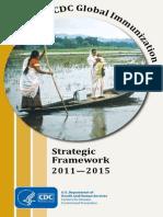 CDC Global Immunization Strategic Framework 2011-2015