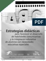 Estrategias Didácticas Para Favorecer El Desarrollo de Habilidades Comunicativas (n.e.)