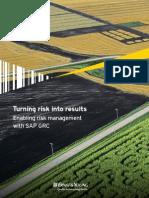 SAP GRC Risk Management Bifold VFinal
